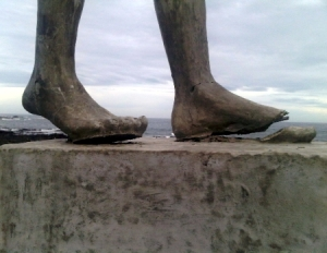 clay feet