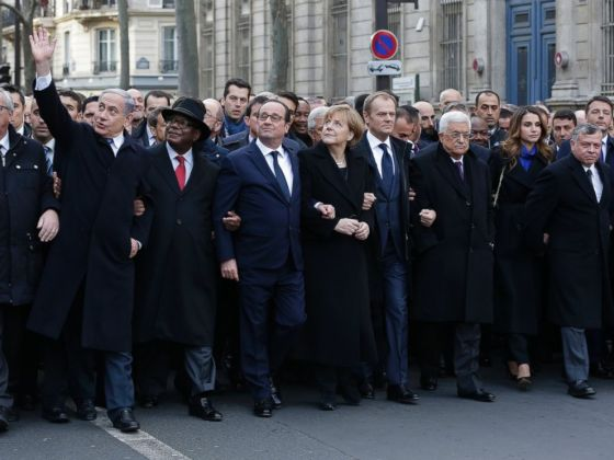 World Leaders United in Paris
