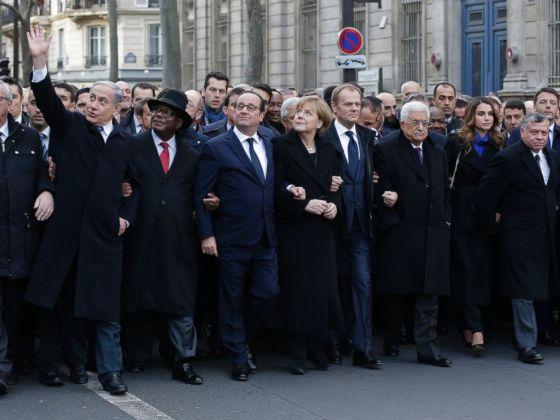 World Leaders United in Paris